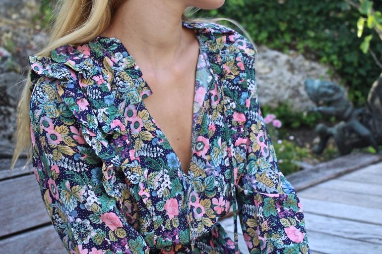 robe fleurie ete