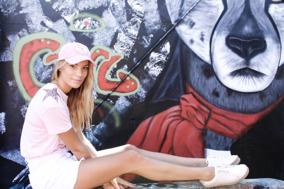 En rose et blanc àDarwin