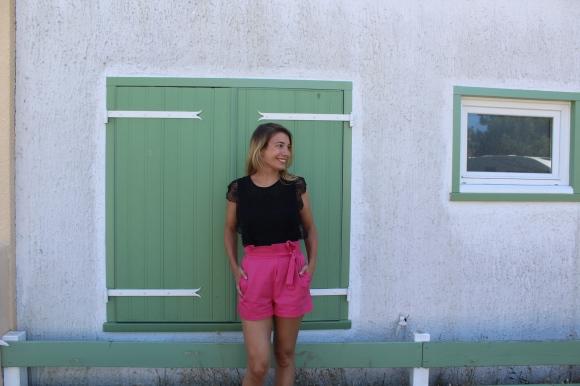 Short taille haute Zara ànoeud