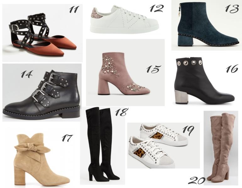 chaussures tendances automne 2