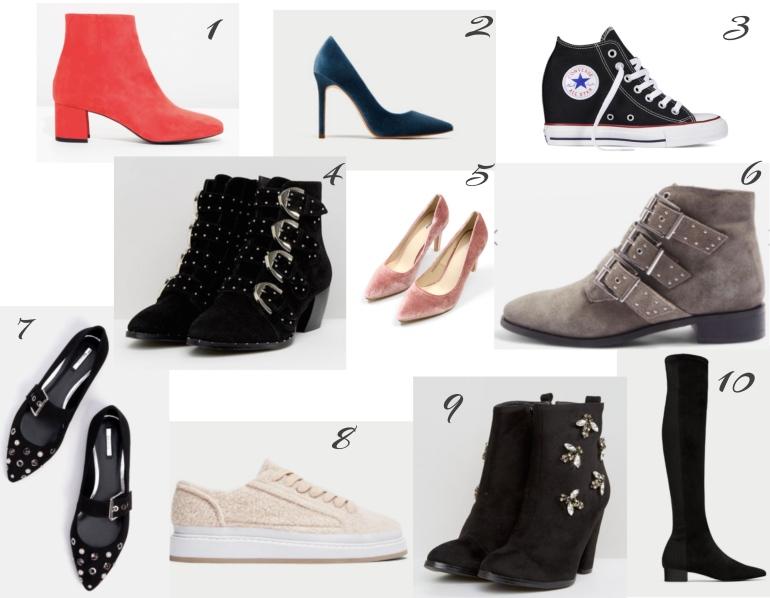 chaussures tendances automne
