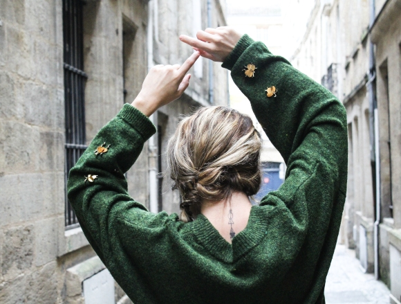 Black Friday, zoom sur mon pull H&M